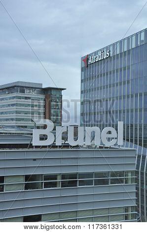 Brunel And Atradius Buildings