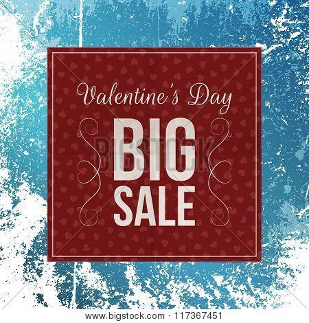 Dark red paper vector Valentines Day Banner