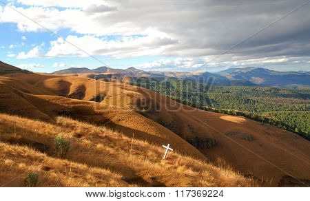 Panorma View To Long Tom Pass South Africa