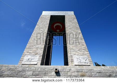 Canakkale Monument Turkey
