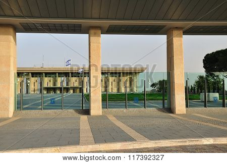 The knesset. Jerusalem.