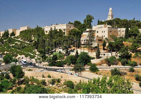 Zion mount. Jerusalem.