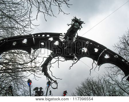 Forged Figure Of Dragon