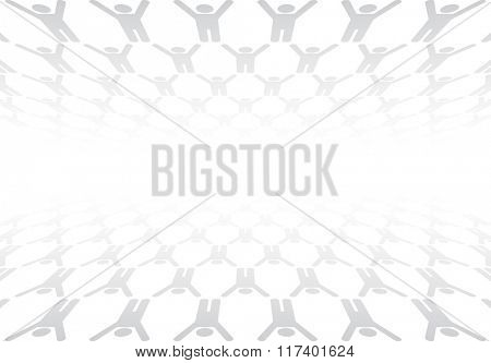 business abstract background textured with person icon