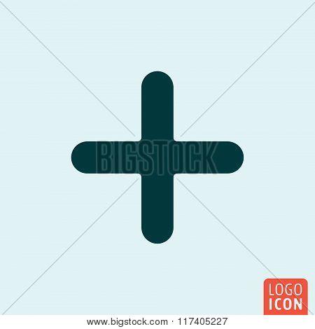 Plus icon design