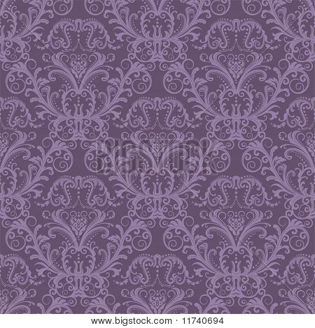 Luxury Purple Seamless Wallpaper.eps