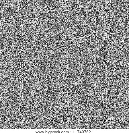 Black and white noise pattern