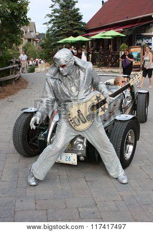 Collingwood Silver Elvis