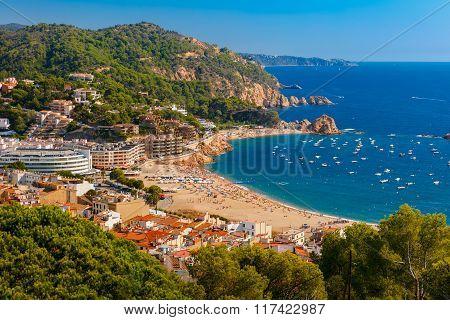 Tossa de Mar on the Costa Brava, Catalunya, Spain