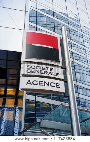 Societe Generale Agence Bank Branch