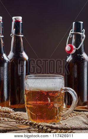 Beer In Old Mug
