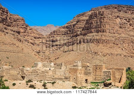 Berber Villages In The Desert Morocco