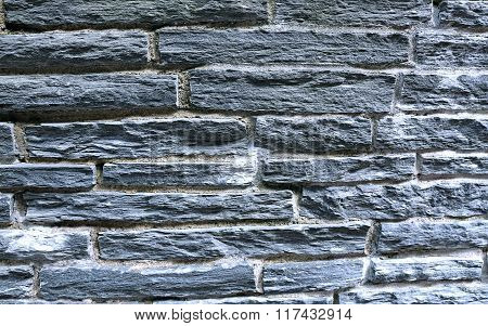 Background Of Gray Flagstone Rocks