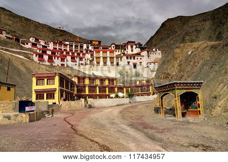 Rizong Monastery ,leh, Ladakh, Jammu And Kashmir, India.