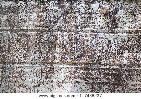 Rusted Metal Barrel Texture