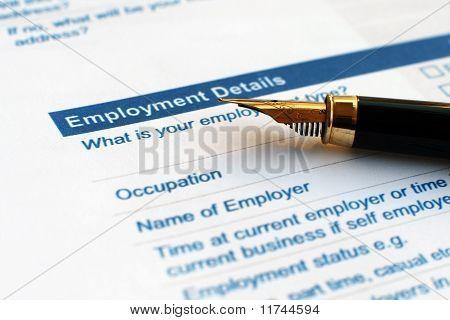 Employment details