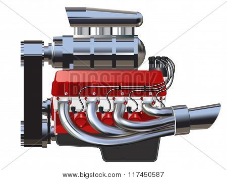 Hot Rod Engine