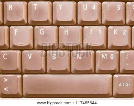 Computer Keyboard Vintage