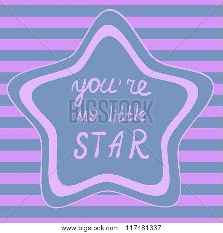PrintStar and stripes background, Seamless star background Decorative frame template