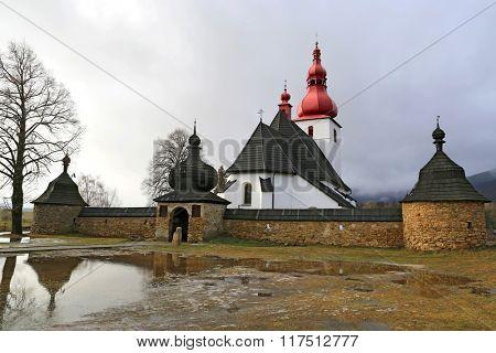 old Kostol sv. Ladislava. Take it in Slovakia