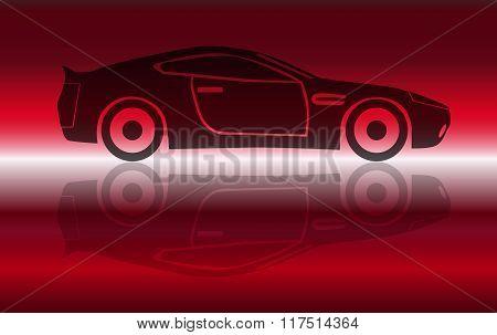 Two Door Sports Car