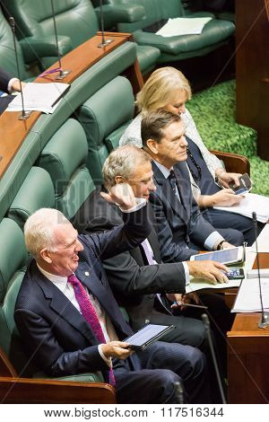 Victorian State Parliament - Question Time February 9, 2016
