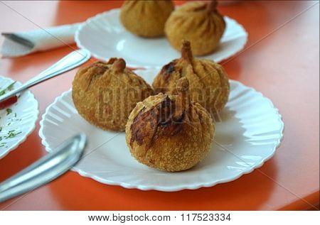 hushuur Buryat national dish
