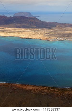 Spain  Harbor Rock Stone  Beach    Lanzarote