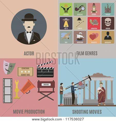 Creating Movies Icons