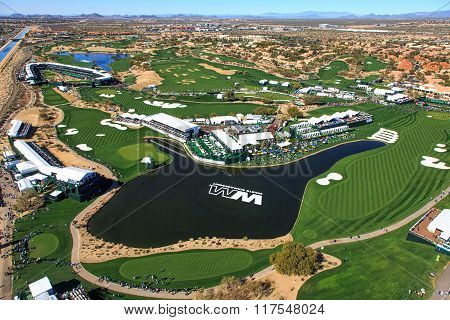 Scottsdale, Arizona, Usa-february 3, 2016-pro-am Day At The Phoenix Open