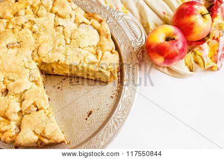 Apple pie ready to eat