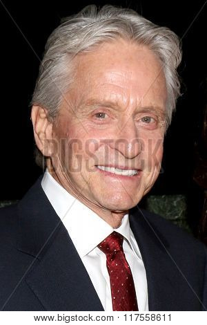 LOS ANGELES - FEB 8:  Michael Douglas at the 15th Annual Movies For Grownups Awards at the Beverly Wilshire Hotel on February 8, 2016 in Beverly Hills, CA