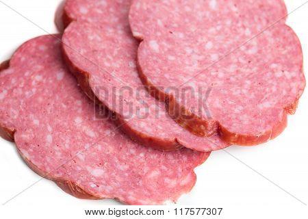 Delicious italian salami sausage.