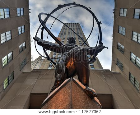 Atlas Statue - Rockefeller Center