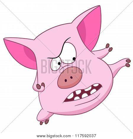 Cute Cartoon Piggy