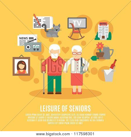 Flat Senior Poster