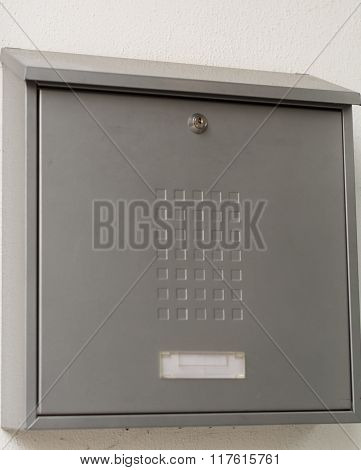 Simple Postbox Metal