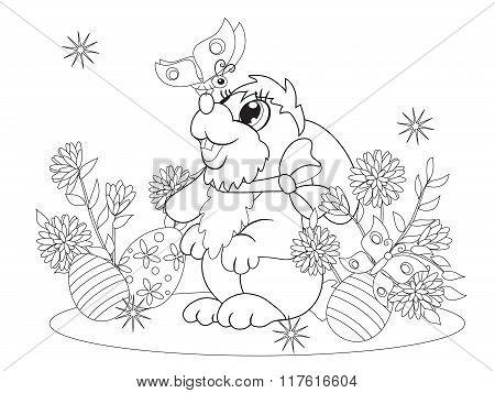 Little Rabbit Met A Butterfly