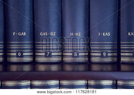 Lexicon On A Bookshelf