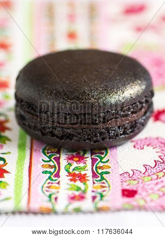 Black Truffle Macaron