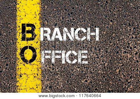 Business Acronym Bo Branch Office