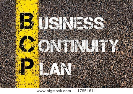 Business Acronym Bcp Business Continuity Plan