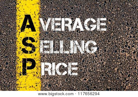 Business Acronym Asp Average Selling Price