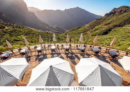 Rocky landscape on Tenerife island