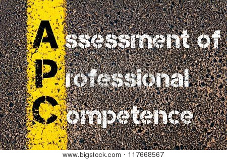 Business Acronym Apc