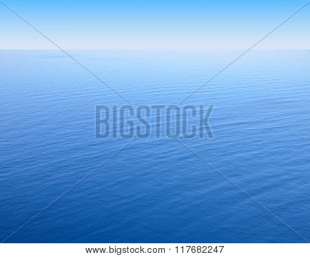 Blue Sea Level To Infinity
