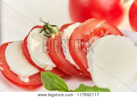 Macro Of Tomato Slices
