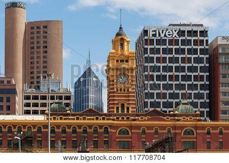 Flinders Street Station Clock Tower