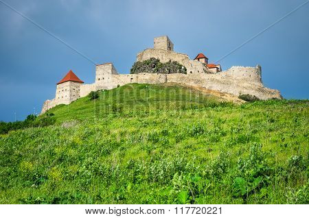 Rupea Fortress Romania. Saxon medieval fortification in Brasov county Transylvania built in XIVth century by saxon rebels.