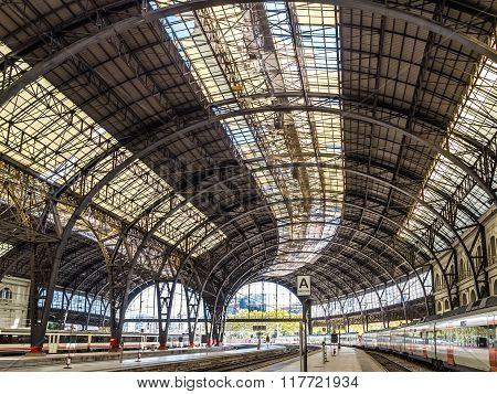 Barcelona Train Station